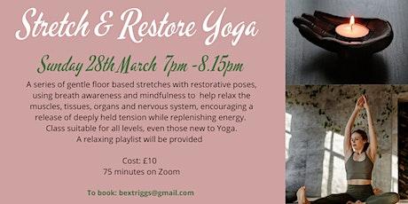 Stretch & Restore Yoga tickets