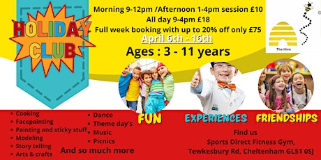 Easter Holiday Kids Club tickets