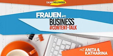 Frauen im Business - Online Live Event mit Content Talk Tickets