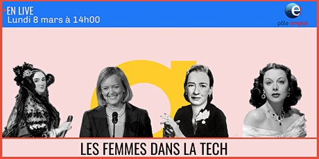 Exposition : Les femmes dans l'informatique x Pôle Emploi - 08/03 billets