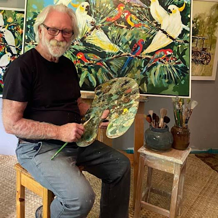 An Introduction to Painting with Bill McSwain image