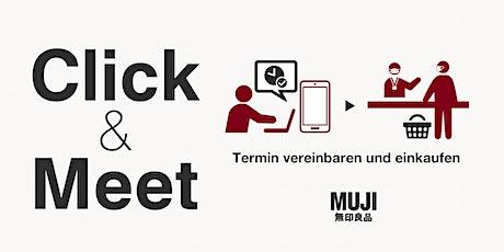 Click & Meet - Einkaufen bei MUJI Düsseldorf Tickets