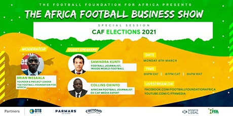 Special Session - CAF Elections 2021 tickets