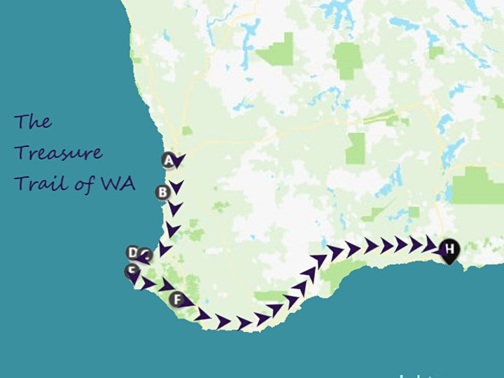 The Treasure Trail of WA Craftsman Initiation & Resin bench making Workshop image