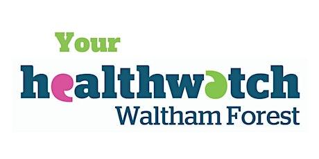 Healthwatch Waltham Forest Online Coffee Meeting tickets