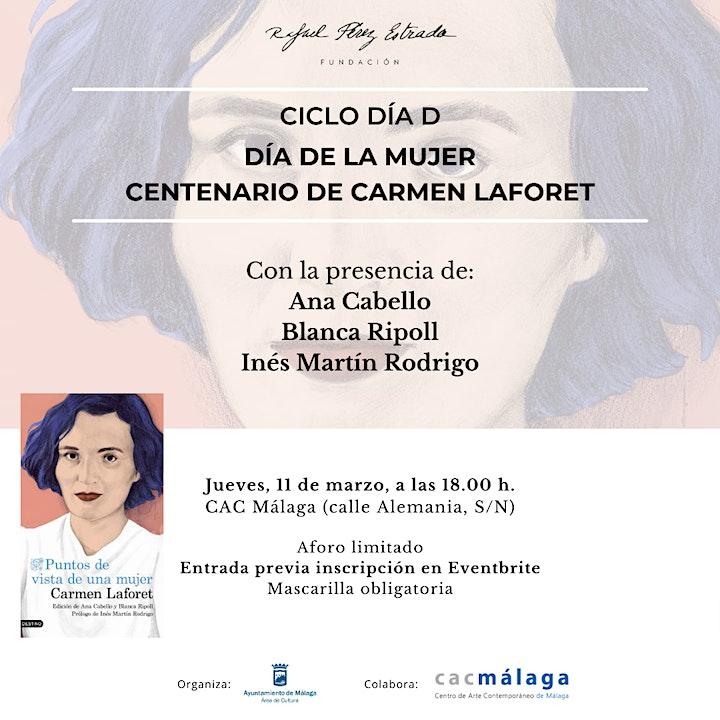 Imagen de Ciclo Día D. Día de la Mujer. Centenario de Carmen Laforet
