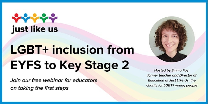 Easy LGBT+ inclusion in primary education: EYFS to Key Stage 2 image