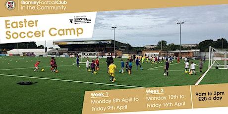 April Half Term Soccer Camp 2021 tickets