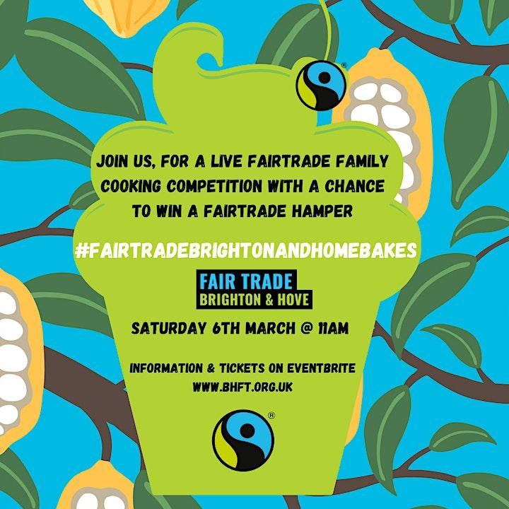 Fair Trade Brighton and Home Bakes 2021: Virtual Baking Competition image