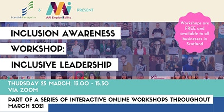 Inclusion Awareness Workshop: Inclusive Leadership tickets
