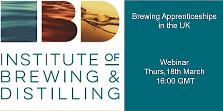 Brewing apprenticeships in the UK tickets