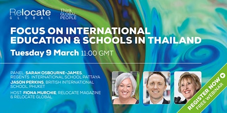 Focus on International Education and Schools in Thailand tickets