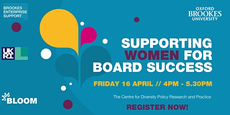 Supporting Women for Board Success tickets