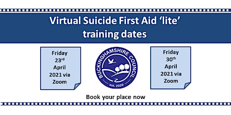 Suicide First Aid Lite Training tickets
