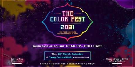 The Color Fest - Holi Festival 2021 tickets