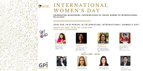 Celebrating Contributions of Indian Women to International Relations tickets