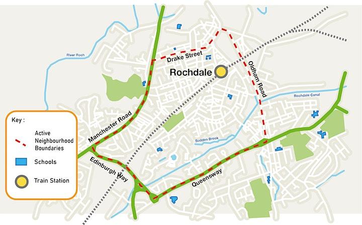 Rochdale Milkstone & Deeplish  Active Neighbourhood  WORKSHOP 1 image