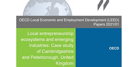 OECD - Cambridgeshire and Peterborough Report Workshop 8 March 2021 tickets