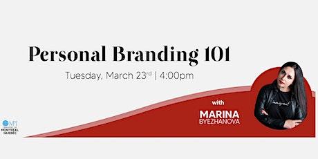 The 101 of Personal Branding entradas