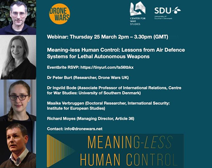 Meaning-less Human Control: Lessons from Air Defence Systems for LAWS image