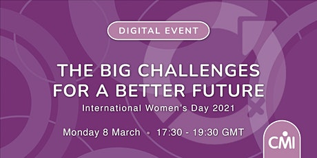 The Big Challenges for a Better Future tickets