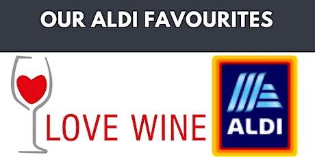 Online wine tasting - our favourite Aldi wines tickets