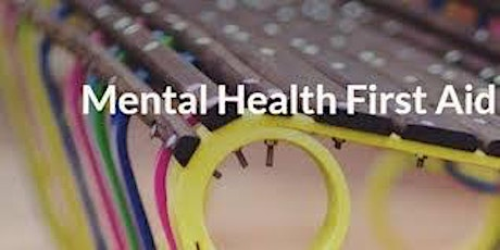 Adult Mental Health First Aid - Full  Certification Course- Live,Virtual tickets