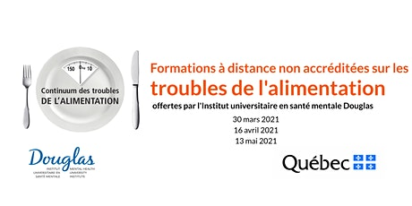 Formations à distance NON ACCRÉDITÉES sur les troubles alimentaires (FR) billets