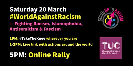 #WorldAgainstRacism - Rally & Day of Action for UN Anti-Racism Day tickets