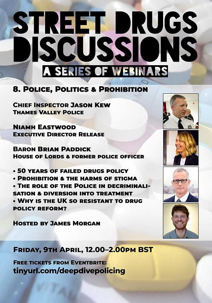 Street Drugs Discussions: Police, Politics & Prohibition image