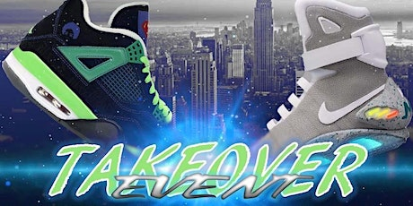 TAKEOVER Event - sneaker show tickets