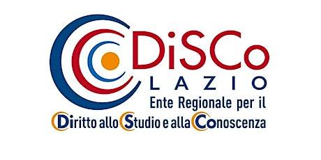 Prenotazione aula studio presso mensa DiSCo Lazio - Via Cambridge 115 ingressos