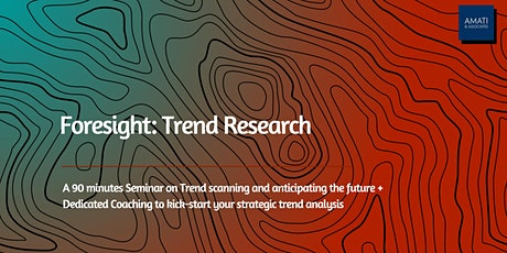 Foresight: Trend Research tickets