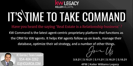 Take Command- Keller Williams Legacy tickets