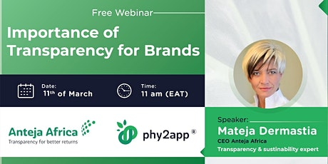 Importance of Transparency for Brands Tickets