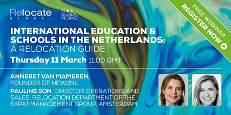 International Education and Schools in the Netherlands tickets