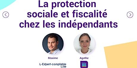 La protection sociale et fiscalité chez les indépendants billets