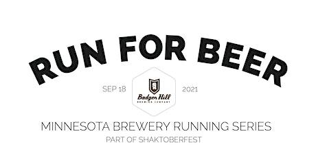 Beer Run - Badger Hill Brewing Co | 2021 MN Brewery Running Series tickets