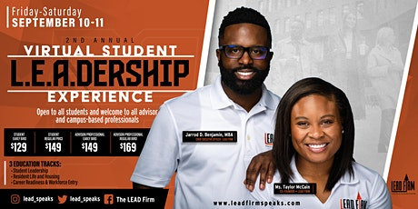 2nd Annual Virtual Student L.E.A.D.ership Experience tickets