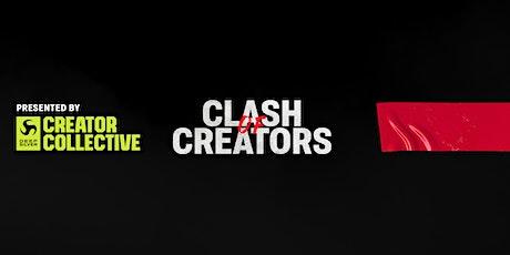 Clash of Creators tickets