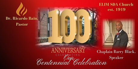 Commemorative Centennial Celebration tickets
