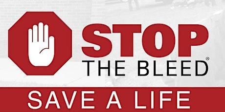 Bleeding Control - Stop the Bleed Virtual Class tickets