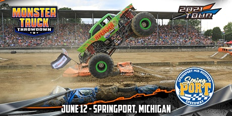 Monster Truck Throwdown - Springport, MI - June 12, 2021 tickets