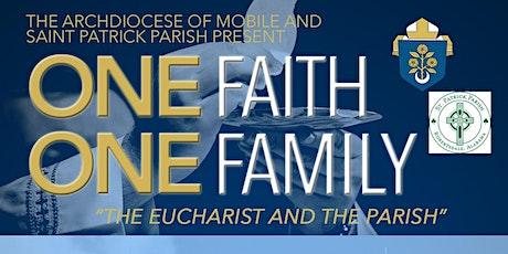 One Faith, One Family tickets