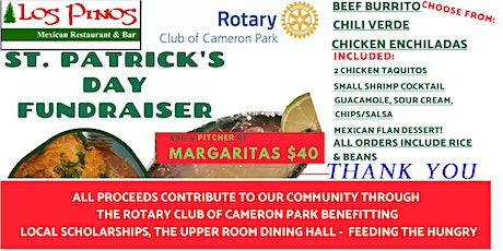 St. Patrick's Day Mexican Feast-Drive-thru style tickets