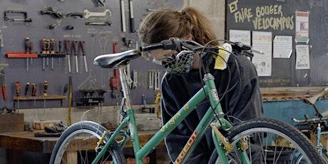 "Formation ""Les bases de la mécanique du cycle"" / bicloo x Vélocampus tickets"
