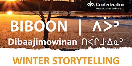 Biboon - Winter Storytelling Event tickets