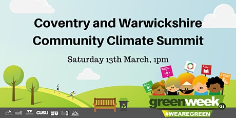 Coventry and Warwickshire Community Climate Summit tickets
