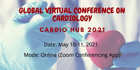 Global Virtual Conference on Cardiology (Cardio Hub 2021) tickets