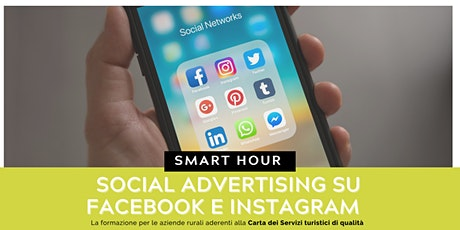 Social advertising su Facebook e Instagram biglietti